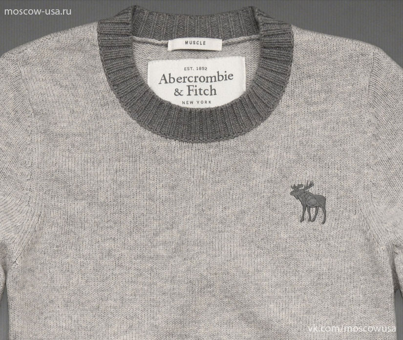 Качественное изображение мужских свитеров Abercrombie & Fitch, Hollister
